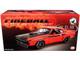 1971 Dodge HEMI Challenger R/T Street Fighter Fireball HEMI Orange Black Hood Black Stripes Limited Edition 876 pieces Worldwide 1/18 Diecast Model Car ACME A1806015