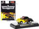 1941 Willys Coupe Gasser Black Yellow Flames Limited Edition 6050 pieces Worldwide 1/64 Diecast Model Car M2 Machines 31600-GS10