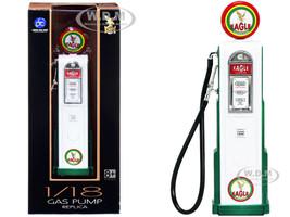 Eagle Gasoline Vintage Digital Gas Pump 1/18 Diecast Replica Road Signature 98611