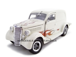 1935 Ford Sedan Delivery Cream 1/24 Diecast Car Unique Replicas 18521