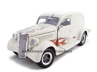 1935 Ford Sedan Delivery Cream 1/24 Diecast Car Unique Replicas 18521