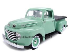 1948 Ford F1 Pickup Green 1/18 Diecast Model Car Road Signature 92218