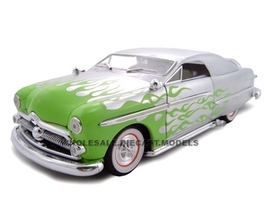 1949 Ford Street Rod Silver 1/24 Diecast Car Unique Replicas 18586