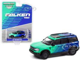 2021 Ford Bronco Sport Falken Tires Hobby Exclusive 1/64 Diecast Model Car Greenlight 30279