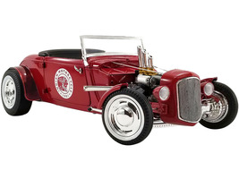 1934 Hot Rod Roadster Red Indian Motorcycle Limited Edition 504 pieces Worldwide 1/18 Diecast Model Car GMP 18958