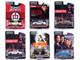 Hollywood Series Set of 6 pieces Release 32 1/64 Diecast Model Cars Greenlight 44920