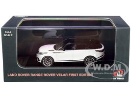 Land Rover Range Rover Velar First Edition Sunroof White Black 1/64 Diecast Model Car LCD Models 64001