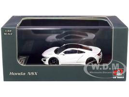 Honda NSX White Carbon Top 1/64 Diecast Model Car LCD Models 64004