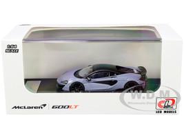 McLaren 600LT Gray Carbon Top Carbon Accents 1/64 Diecast Model Car LCD Models 64007