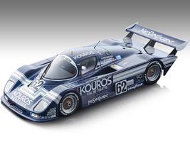 Sauber C8 #62 Dieter Quester Henri Pescarolo Christian Danner Kouros Racing Team 24 Hours Le Mans 1986 Mythos Series Limited Edition 130 pieces Worldwide 1/18 Model Car Tecnomodel TM18-138 B