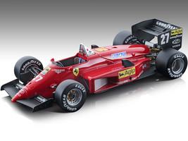 Ferrari 156-85 #27 Michele Alboreto Winner Formula One F1 Canada Grand Prix 1985 Mythos Series Limited Edition 250 pieces Worldwide 1/18 Model Car Tecnomodel TM18-201 B