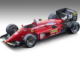 Ferrari 156-85 #28 Stefan Johansson Formula One F1 Nurburgring German Grand Prix 1985 Mythos Series Limited Edition 150 pieces Worldwide 1/18 Model Car Tecnomodel TM18-201 C