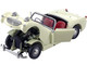 Austin Healey Sprite Convertible RHD Right Hand Drive Old English White Red Interior 1/18 Diecast Model Car Kyosho 08953 EW