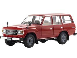 Toyota Land Cruiser 60 RHD Right Hand Drive Red 1/18 Diecast Model Car Kyosho 08956 R