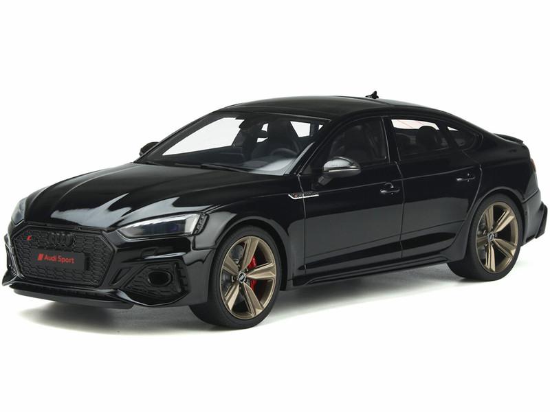 Audi RS 5 B9 Sportback Mythos Black Limited Edition 999 pieces Worldwide 1/18 Model Car GT Spirit GT312