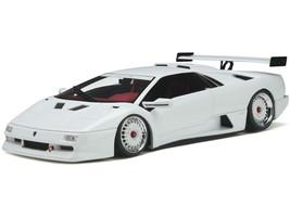 Lamborghini K.0. Diablo White Red Interior Limited Edition 999 pieces Worldwide 1/18 Model Car GT Spirit GT330