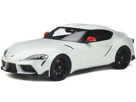 Toyota Supra GR Fuji Speedway Edition White Limited Edition 999 pieces Worldwide 1/18 Model Car GT Spirit GT341