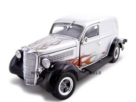 1935 Ford Sedan Delivery Silver 1/24 Diecast Car Unique Replicas 18523