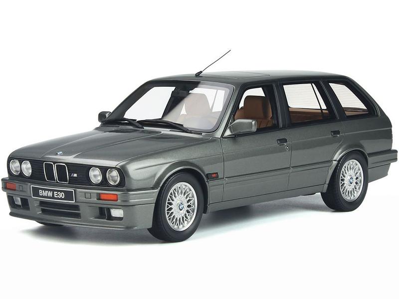 BMW E30 Touring 325I Dolphin Gray Metallic Limited Edition 3000 pieces Worldwide 1/18 Model Car Otto Mobile OT929