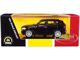BMW X5 G05 with Sunroof Black 1/64 Diecast Model Car Paragon PA-55183