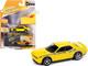 2010 Dodge Challenger R/T Detonator Yellow Black Stripes Collector Tin Limited Edition 5036 pieces Worldwide 1/64 Diecast Model Car Johnny Lightning JLCT006-JLSP147 A