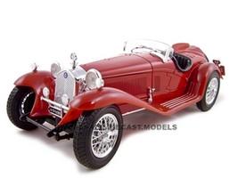 1932 Alfa Romeo 8C 2300 Spider Touring Red 1/18 Diecast Model Car Bburago 12063