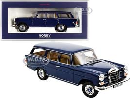 1966 Mercedes Benz 200 Universal Dark Blue 1/18 Diecast Model Car Norev 183599