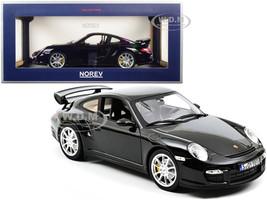 2010 Porsche 911 GT2 Black 1/18 Diecast Model Car Norev 187598