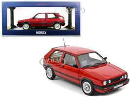 1990 Volkswagen Golf GTI Red Metallic 1/18 Diecast Model Car Norev 188555