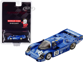 Porsche 956 #21 Andretti Andretti Alliot Kenwood 3rd Place 24H Le Mans 1983 1/64 Diecast Model Car Sparky Y177B