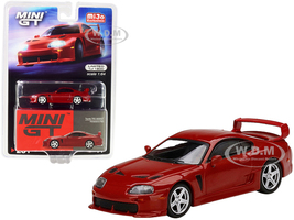 Toyota TRD 3000GT Renaissance Red Limited Edition 1800 pieces Worldwide 1/64 Diecast Model Car True Scale Miniatures MGT00231