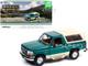 1993 Ford Bronco Eddie Bauer Edition Emerald Green Tan 1/18 Diecast Model Car Greenlight 19094