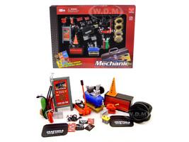 Mechanic Garage Accessories Set 1/24 Scale Models Phoenix Toys 18415