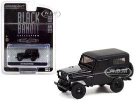 1970 Nissan Patrol Black Black Bandit Series 25 1/64 Diecast Model Car Greenlight 28070 B