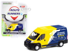 2019 Ram ProMaster 2500 Cargo High Roof Van Yellow Blue Goodyear Tire Installation That Comes To You Route Runners Series 3 1/64 Diecast Model Greenlight 53030 E