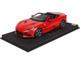 Ferrari Portofino M Convertible Rosso Corsa 322 Red DISPLAY CASE Limited Edition 150 pieces Worldwide 1/18 Model Car BBR P18193 B