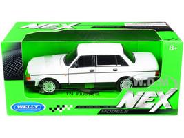 Volvo 240 GL White NEX Models 1/24 Diecast Model Car Welly 24102