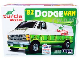Skill 2 Model Kit 1982 Dodge Van Custom Turtle Wax 2-in-1 Kit 1/25 Scale Model MPC MPC943 M