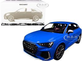 2019 Audi RS Q3 Sportback Blue Limited Edition 240 pieces Worldwide 1/18 Diecast Model Car Minichamps 155018101