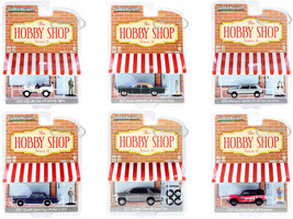 The Hobby Shop Set of 6 pieces Series 11 1/64 Diecast Model Cars Greenlight 97110