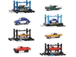 Model Kit 4 piece Car Set Release 41 Limited Edition 8280 pieces Worldwide 1/64 Diecast Model Cars M2 Machines 37000-41