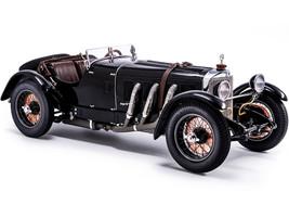 1928 Mercedes Benz SSK Black Limited Edition 800 pieces Worldwide 1/18 Diecast Model Car CMC M-208