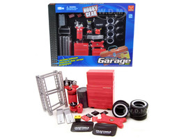 Garage Accessories Tool Set 1/24 Scale Model Cars Phoenix Toys 18420