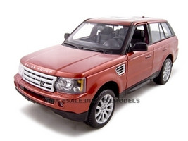 Range Rover Sport Metallic Red 1/18 Diecast Model Car Maisto 31135