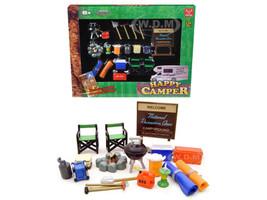 Happy Camper Accessories Set 1/24 Scale Models Phoenix Toys 18430
