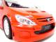 2005 Peugeot 307 WRC Plain Body Version Red 1/18 Diecast Model Car Autoart 80557