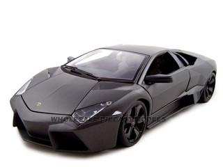 Lamborghini Reventon Matt Grey 1/18 Diecast Model Car Bburago 11029