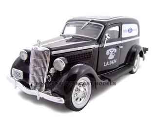 1935 Ford Sedan Delivery Parts Delivery 1/24 Diecast Car Unique Replicas 18516