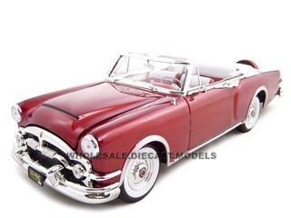 1953 Packard Caribbean Red 1/18 Diecast Model Car Road Signature 92798