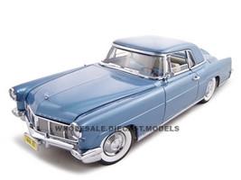 1956 Lincoln Continental Mark 2 Blue 1/18 Diecast Model Car Road Signature 20078